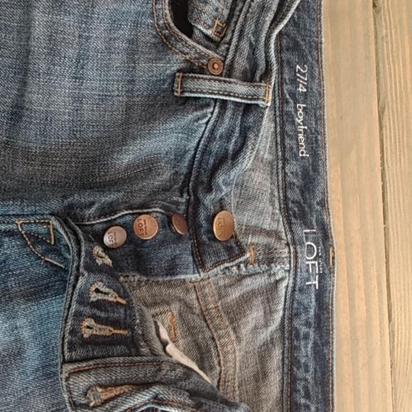 LOFT Denim - Loft ripped jeans